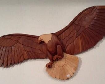 Soaring Eagle Intarsia