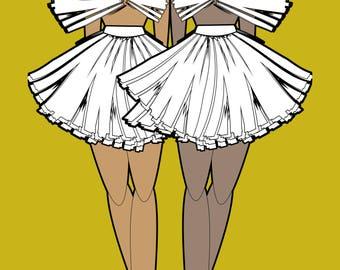 ASH - Digital Art Fashion Illustration