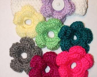 Interchangeable Flower Headband