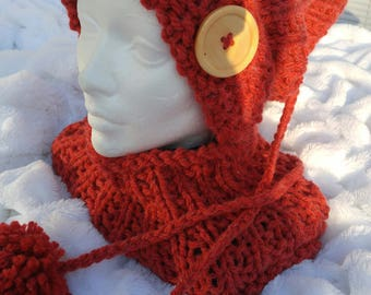 Hat and neck warmer