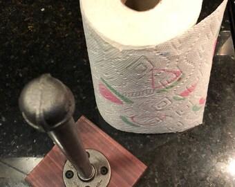 Industrial Metal Pipe Paper Towel Holder