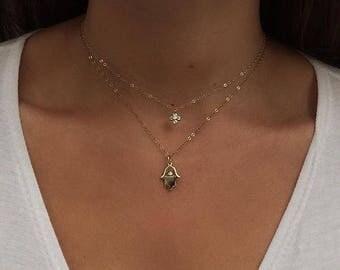 Clover Cubic Zirconia Necklace Choker
