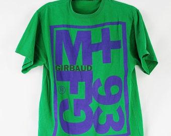 Vintage 1993 Marithé et François Girbaud T-Shirt Size L