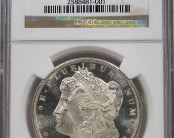1880 S Morgan Silver Dollar NGC MS65 PL Coin Certified