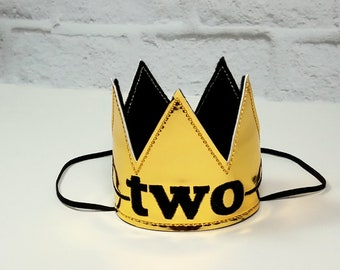 Dog Birthday Crown, Dogs First Birthday, Gold/Black Crown, Dog King Crown, Mini Crown, Gotcha Day, Cake Smash, Photo Prop, Gold Pet Crown
