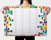 2018 Wall Planner, Year C...