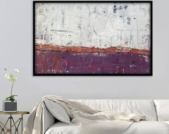 Large Abstract Painting, Abstract Wall Art. 48x30 Inch Large Abstract Art. Original Abstract Painting. Large Abstract Wall Painting.