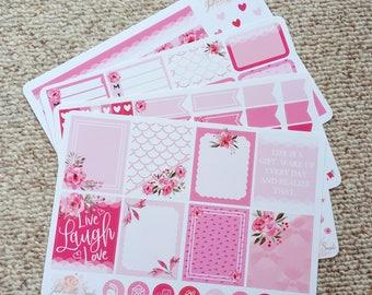 Live Laugh Love Sticker Kit