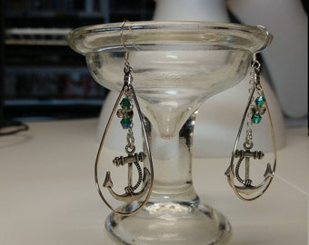 Anchor and Chain earrings