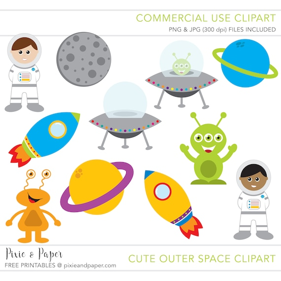 Commercial use clipart commercial use clip art outer for Outer space industrial design