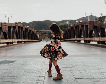 Girls Tropics Bespoke Dress