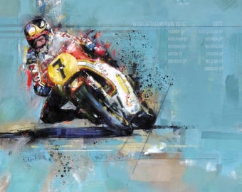 RG 500 ~ The Sheene Machine: Limited Edition Print