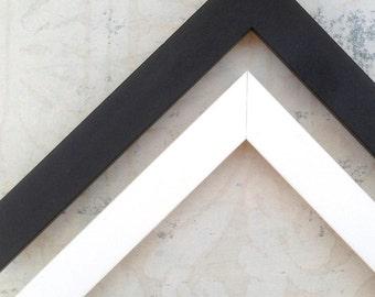 Simple Black Picture Frames - Gallery Wall Black Picture Frame - Square Black Frames - Custom Picture Frame-Black Photo Frame