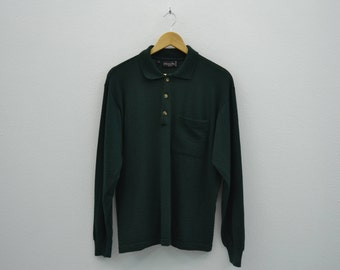 Christian Dior Shirt Vintage Christian Dior Wool Shirt Christian Dior Monsieur Made in Italy Mens Size S