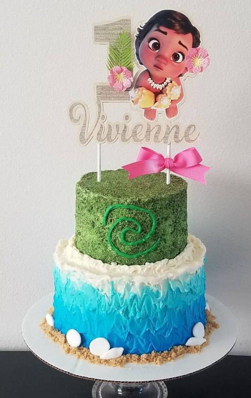 Baby Moana Cake Ideas