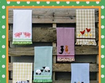 "Pattern ""Country Critters"" Yo Yo Accents by Marcia Layton Designs"