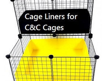 C&C Cages: Fleece cage liners made to suit - CUSTOM ORDERS WELCOME