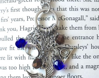 Ravenclaw Harry Potter Inspired House Charm Necklace