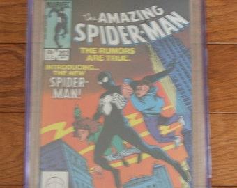 The Amazing Spider-man #252 Black Costume Marvel Comics