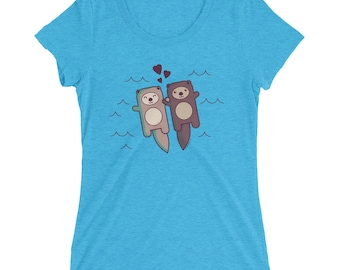 Significant Otter T-Shirt - cute otter t-shirt, shirt men shirt women, love cute otter tee, gift for her, valentines day gift, soft t-shirt