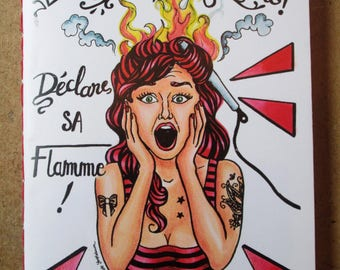"Carnets ""La Pin up Moderne déclare sa flamme"""