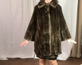 Vintage Grandella II Milk Chocolate Faux Fur
