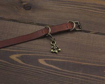Bronze Templar charm for cat or dog collars. Pet pendant. Cat collar charm. Dog collar charm. Pet charm. Collar charms. Cat bling Dog bling