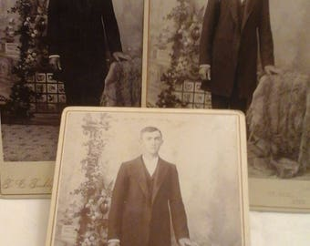 Antique photo of  gentlemen