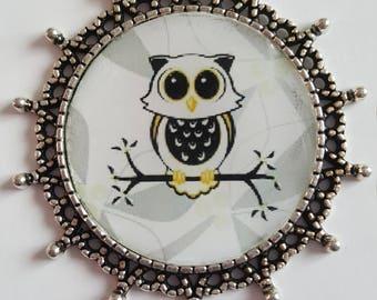OWL pendant + chain