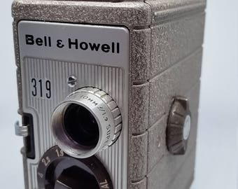 Vintage Bell and Howell 319 8mm Movie Camera