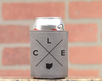 Cleveland | Can Cooler - Custom Can Coolers - Beer Cozy - Cleveland Ohio
