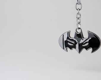 Batman keychain - Batman Mask Keychain - Batman 3D printed keychain - Batman Dark Knight keychain - Batman Logo keychain - Bat keychain