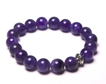 Amethyst Healing Crystal Bracelet