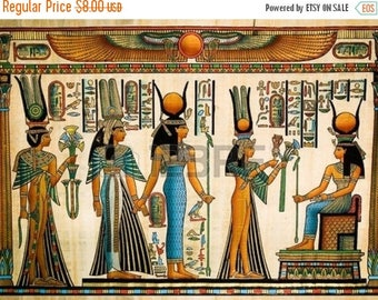 nefertari Cross Stitch Pattern Pdf egyptian pattern hieroglyphs pattern - 386 x 290 stitches - INSTANT Download - B851