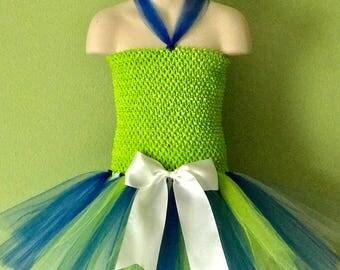 New!!! Seattle Seahawks Inspired Tutu Dress