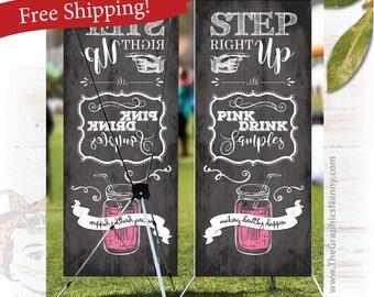 plexus chalkboard event banner, FREE SHIPPING