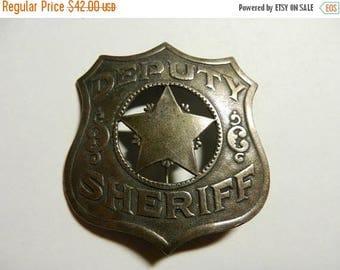 Summer Sale Vintage Deputy Sheriff Badge