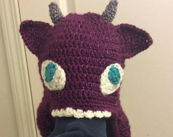 Clearance Sale Crocheted Toothless hat, fantasy color toothless hat, Toddler hat