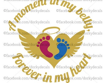 Pregnancy Loss Decal