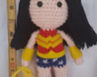 Wonder Woman Amigurumi