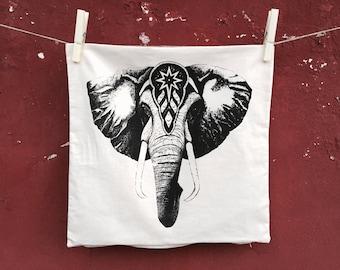 elephant Cushion Cover,  Decorative Pillow, circus pillow, elephant pillow, home decor, vintage cushion cover, pillow cover, elephant decor