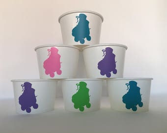 Roller skating Party Cups, Skate Party Cups, Skating Party Cups, Roller Skating Birthday Party Cups