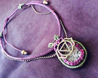 Pyrite Necklace Ajna Pendant