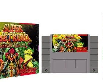 Super Metroid Mission Rescue Complete Box Set