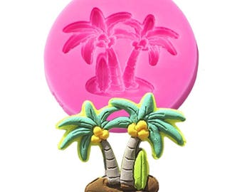 Palm tree coconut Mold