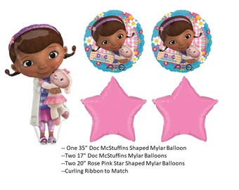 Doc McStuffins Balloon Set