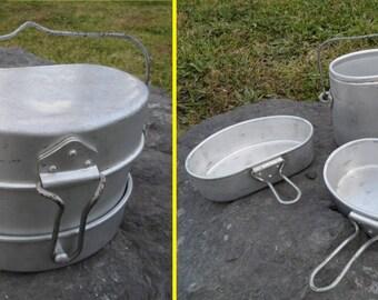Italian Military Mess Kit, Model 1954, M54, Gavetta Italiano Modelo 1954, Army Mess Kit