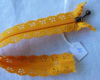 Zipper lace 20 neck 10 cm