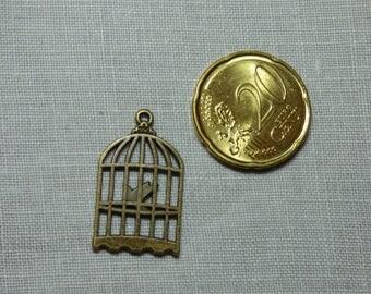 Bronze ref 1 Bird Cage charms