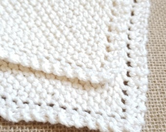Organic Cotton Washcloths